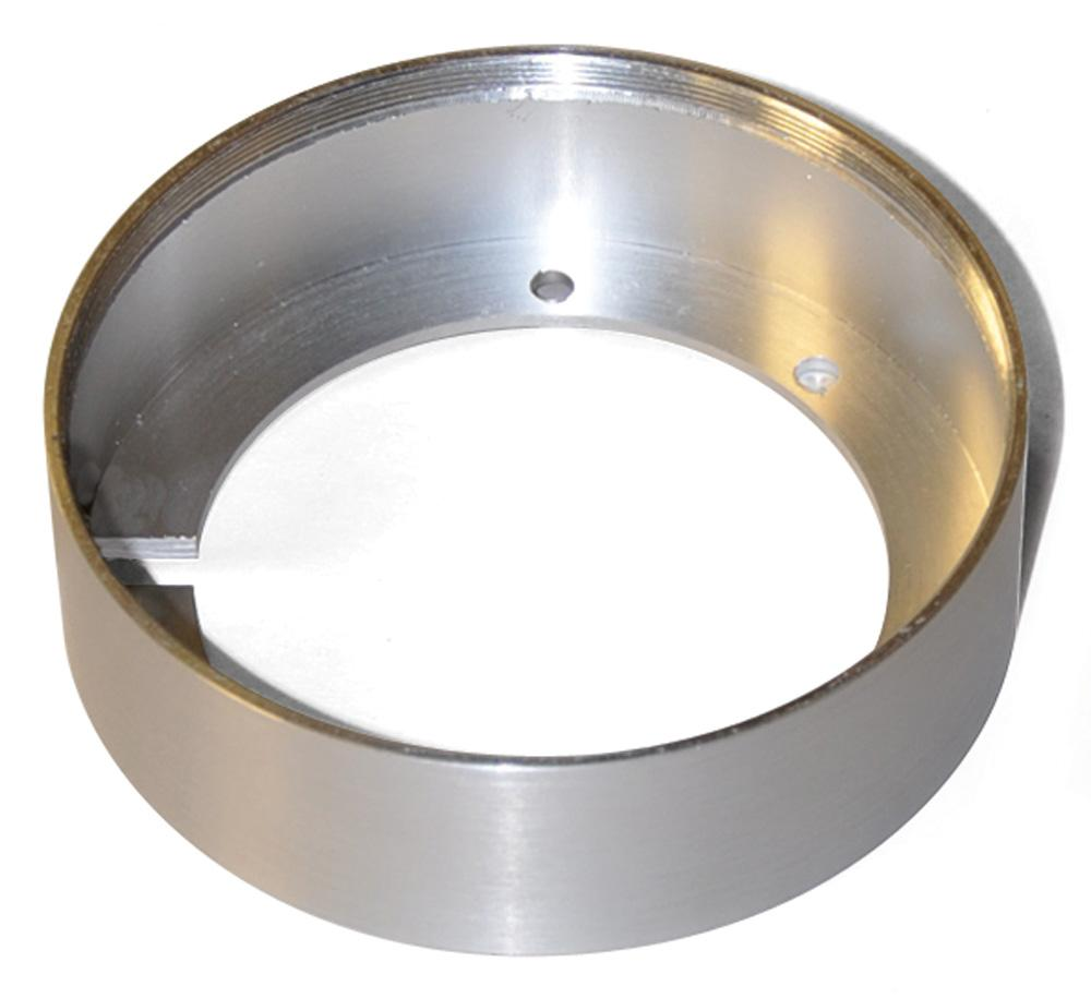 Tiro 3 Under Cabinet Mount Collar In Brushed Aluminum