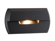 CSL Online SS3004-BZ - LED STEP LIGHT BRONZE 120V 3W 2850K +/-100K W/DRIVER MOUNTS TO SINGLE GANG BOX