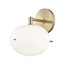 Hudson Valley H102101-AGB - 1 Light Wall Sconce