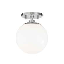 Hudson Valley H105601-PN - 1 Light Semi Flush