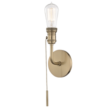 Hudson Valley H106101-AGB - 1 Light Wall Sconce