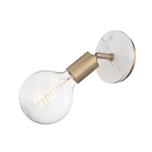 "Hudson Valley H110101B-AGB - 1 Light Wall Sconce ""B"" Style"