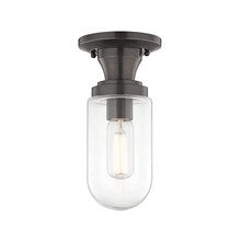 Hudson Valley H124601-OB - 1 Light Semi Flush
