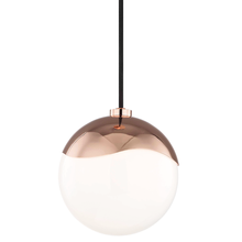Hudson Valley H125701S-POC - 1 Light Small Pendant