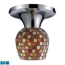 ELK Lighting 10152/1PC-MLT-LED - Celina 1 Light LED Semi Flush In Polished Chrome