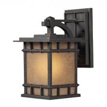 ELK Lighting 45010/1 - Newlton 1 Light Outdoor Sconce In Weathered Char